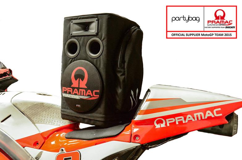 Partnership con Pramac Racing Team
