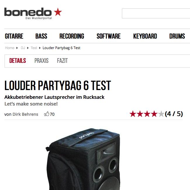 Partybag 6 Recensita da Bonedo