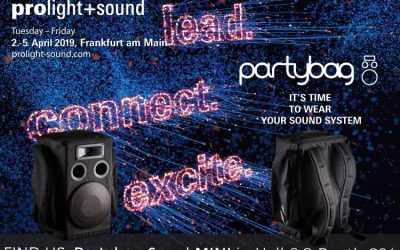 Partybag @ Prolight & Sound 2019 – Francoforte