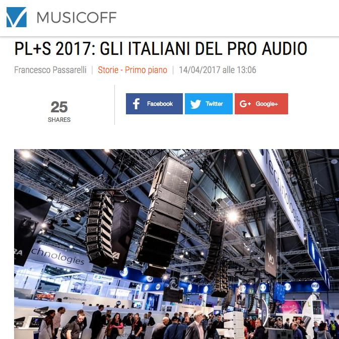 MusicOff recensione PLS 2017